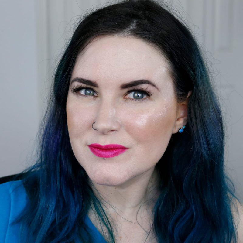 Makeup Geek Bronzer in Sun-Kissed swatched on Fair skin