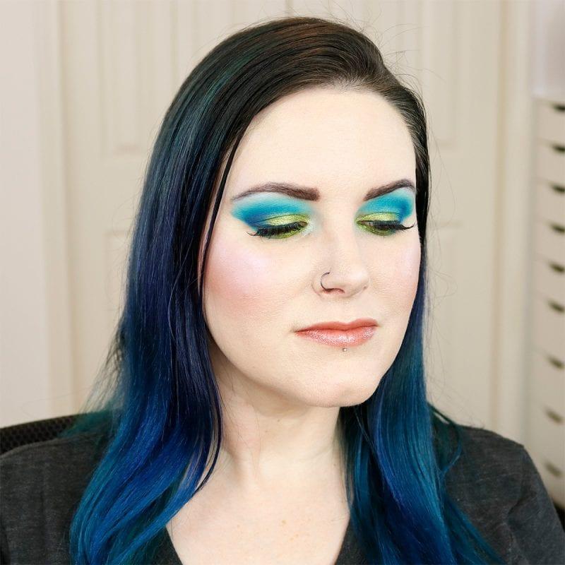 Makeup Geek Power Pigments Mermaid Tutorial