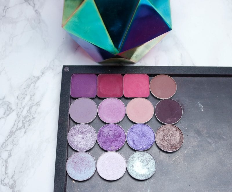 Makeup Geek Purple Eyeshadow Palette