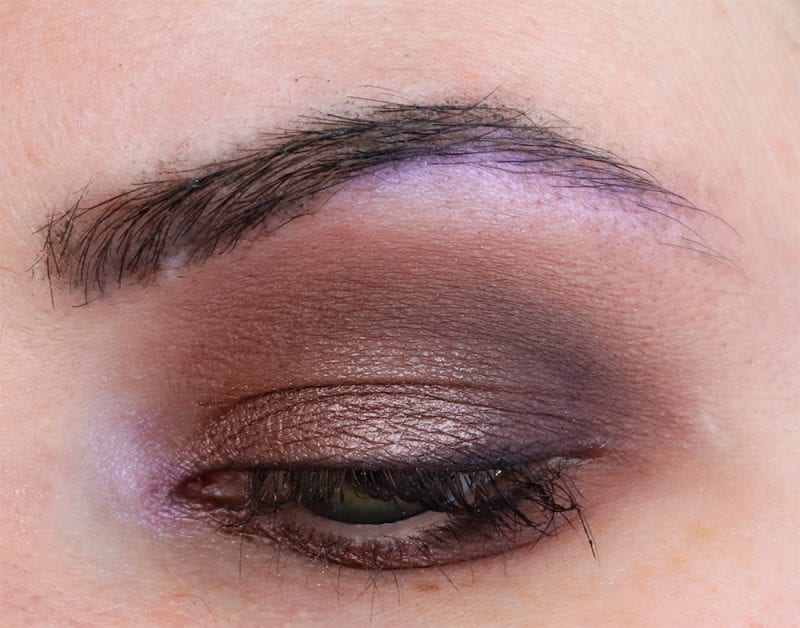Work Safe Purple Makeup Look