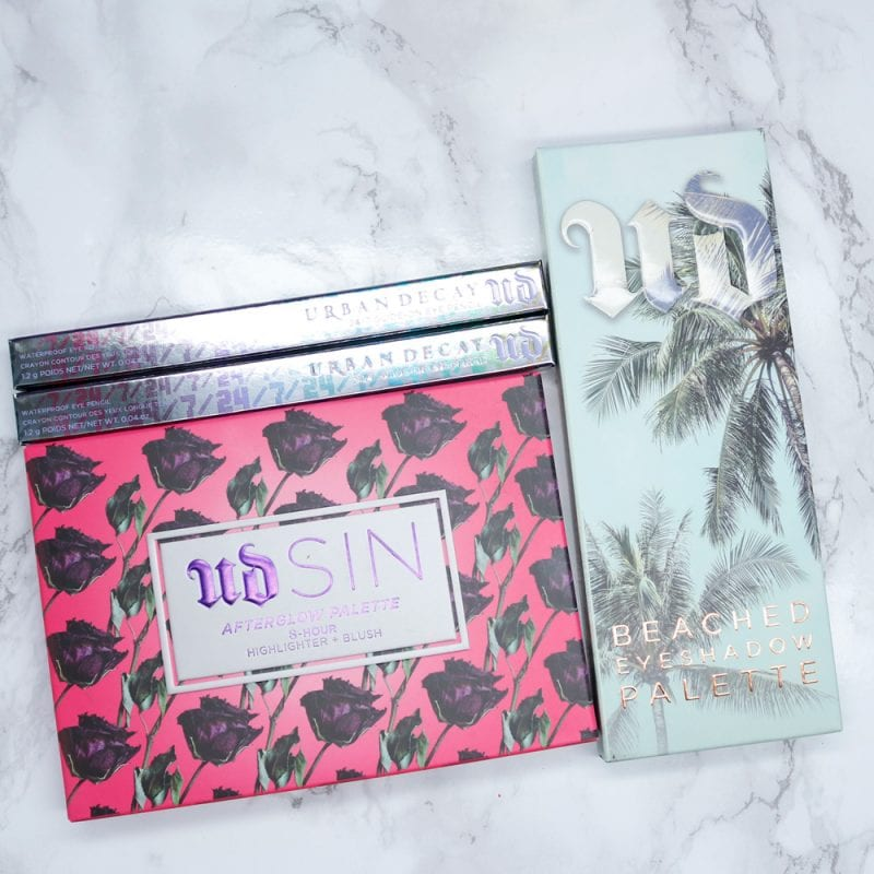 Urban Decay Beached Eyeshadow Palette and Giveaway