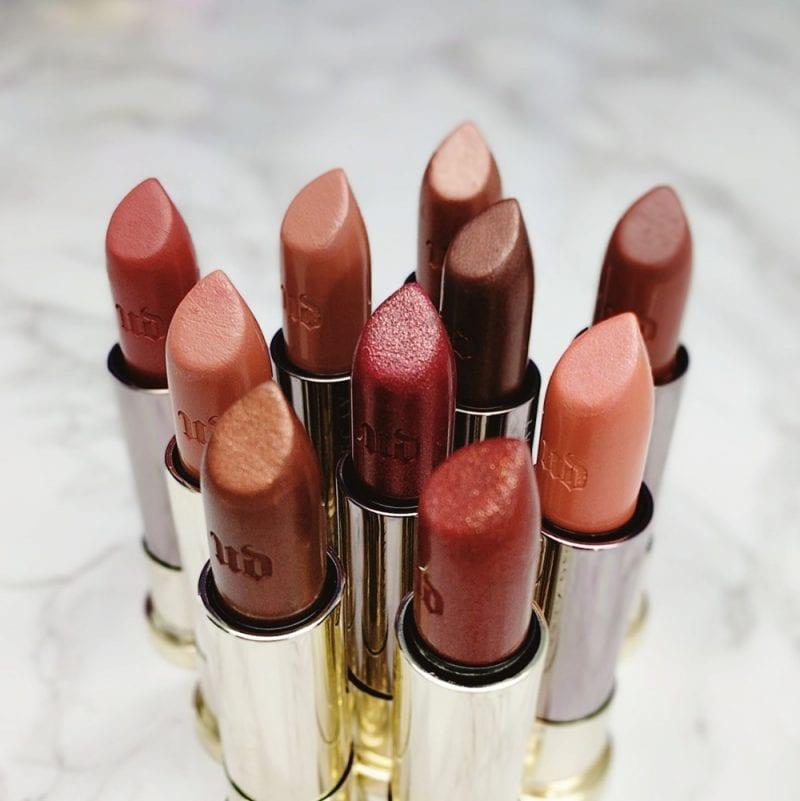 Urban Decay Naked Heat Vice Lipsticks
