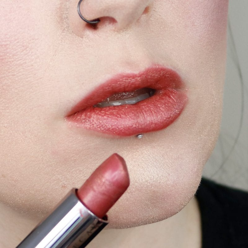 Urban Decay Vice Lipstick in Outspoken lip swatch