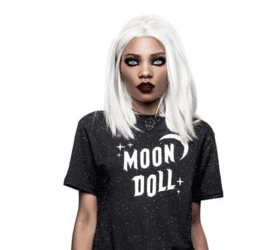 Rogue & Wolf Moon Doll