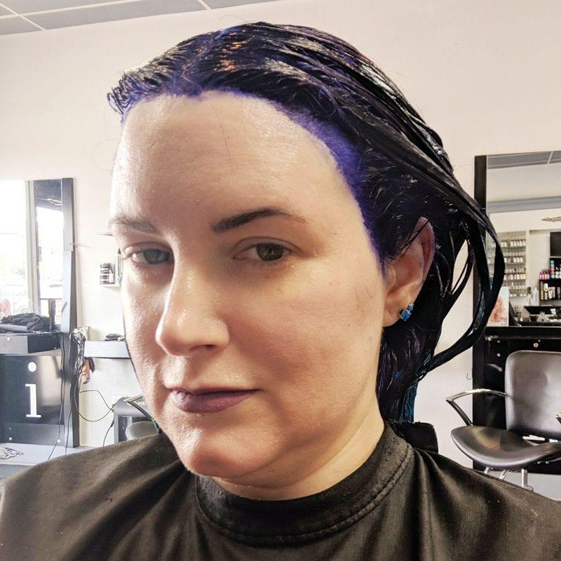 Hair Dye in my hair