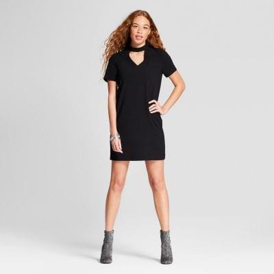 Alison Andrews Choker Shift Dress