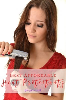 Best Affordable Cruelty-Free Heat Protectants for Hair Under $20 - Today I've rounded up the best affordable cruelty-free heat protectants for hair for under $20, with over 20 options to choose from! #budgetbeauty #beauty #crueltyfree #hair