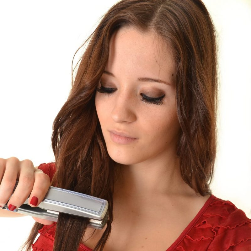 Heat Protectants for Hair