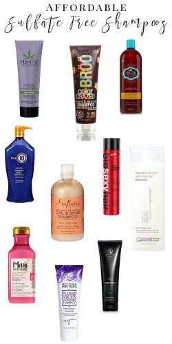 The Best Affordable Sulfate Free Shampoos and Conditioners
