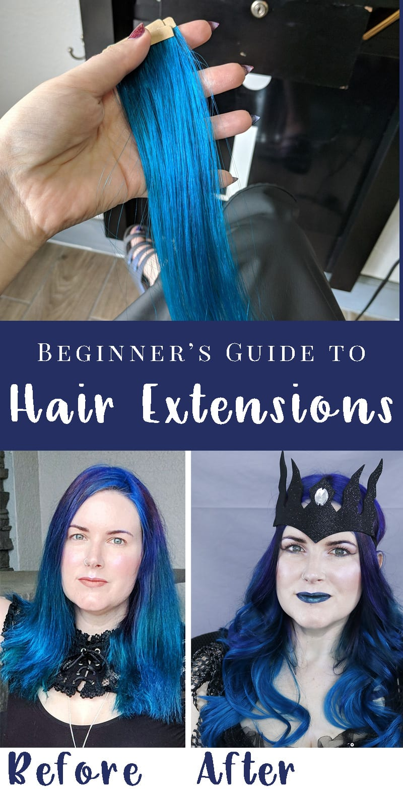 Beginner's Guide to Tape in Hair Extensions