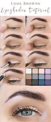 Cool Browns Eyeshadow Tutorial
