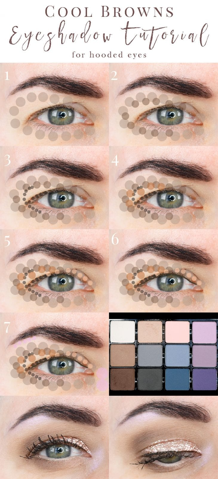 Cool Browns Eyeshadow Tutorial