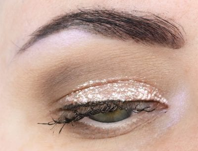 Wearing Pixi Liquid Fairy Lights in Crystalline and RoseGold