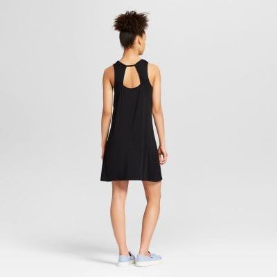 Cut-Out Back Sleeveless Dress