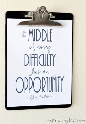 DIY Inspirational Quotes