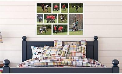 DIY Photo Montage Wallpaper