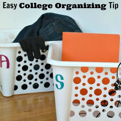 Easy College Organizing Tip