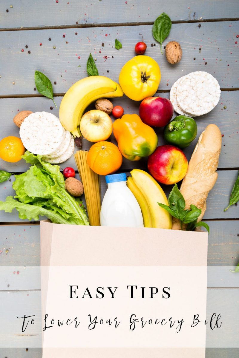 9 Easy Tips to Lower Your Grocery Budget without Coupons