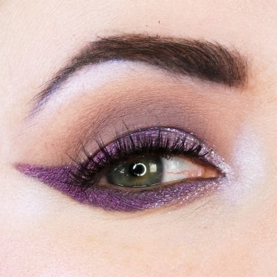 Wearing Fyrinnae Idolize with the Viseart Cool Mattes palette