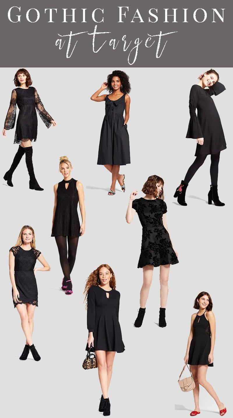 Gothic Fashion at Target