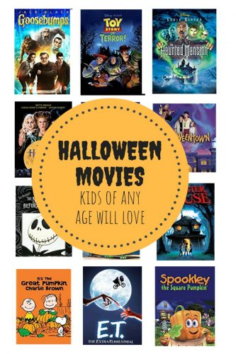 Halloween Movies Kids of Any Age Will Love