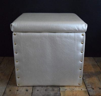 How to Re-Cover a Storage Cube