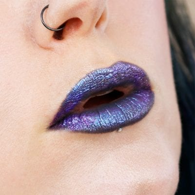Wearing Kat Von D Starflyer and Wizard on top of Nyx Stone Fox pencil