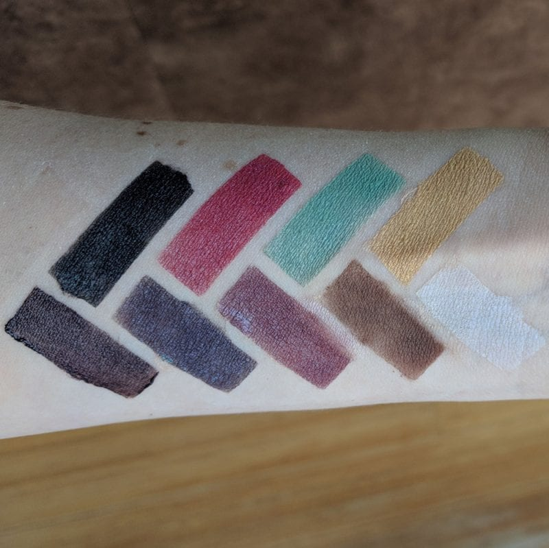 My Pretty Zombie Titty Bats Swatches