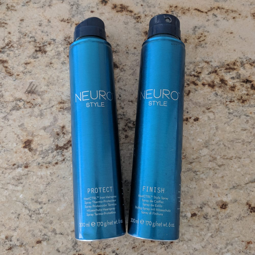 Paul Mitchell Neuro Style Heat Protectant and Hair Spray
