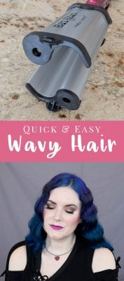 Quick and Easy Way to Get Wavy Hair - I love wavy hair, whether it's vintage waves, beachy waves, or second day braids. The Bed Head Makin' Waves S Waver is perfect for vintage waves. #hair #hairstyle #tutorial