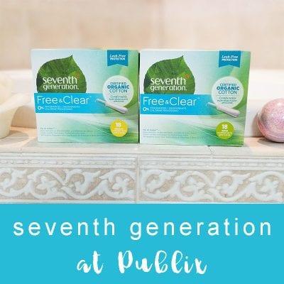 Seventh Generation Feminine Care at Publix
