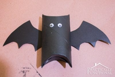 DIY Toilet Paper Roll Bats by Practically Functional