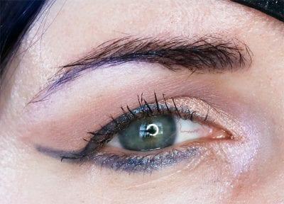 Wearing Viseart Cool Mattes 2 eyeshadow palette