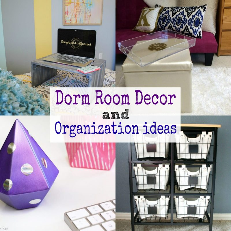 27 Dorm Room Decor and Organization Ideas