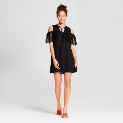 Lily Star Cold Shoulder Dress