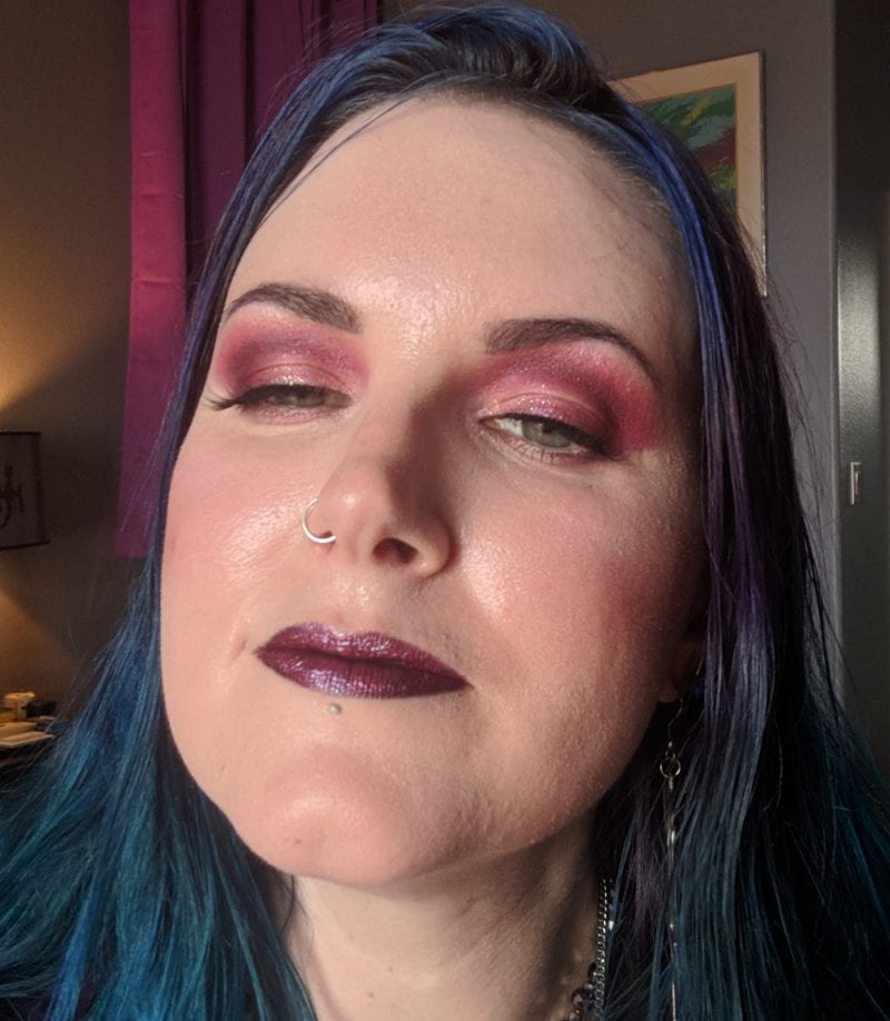 Urban Decay Born to Run Palette Look