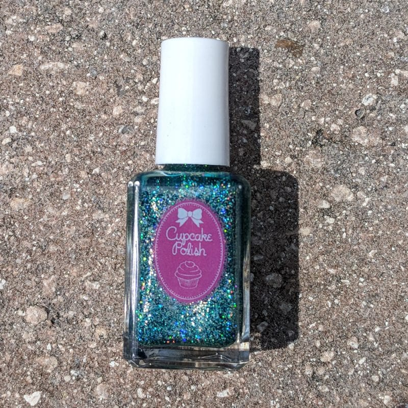 Cupcake Polish Blue Tourmaline