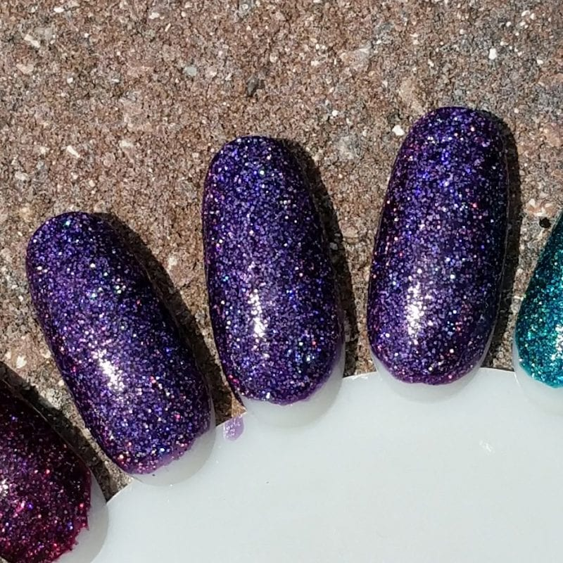 Cupcake Polish Amethyst Swatches