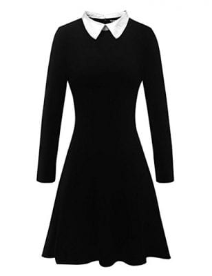 DIY Wednesday Addams Costume
