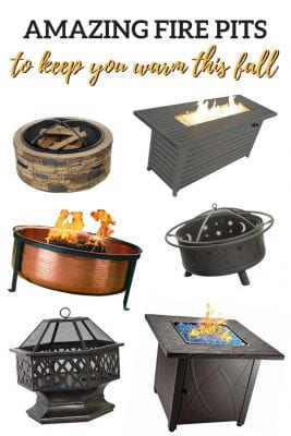Amazing Fire Pits to Keep You Warm This Fall
