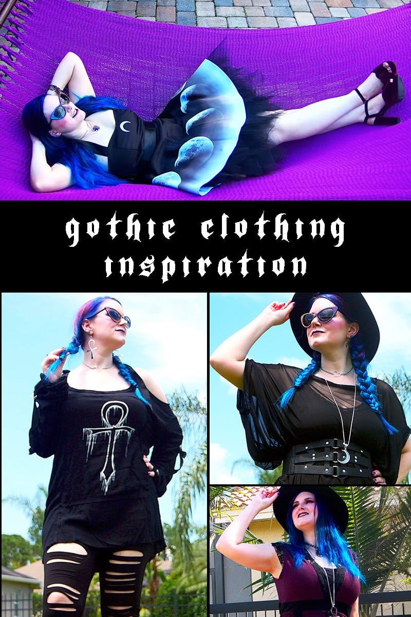 Gothic Clothing Inspiration: August 2018 Lookbook #gothicfashion #witchystyle