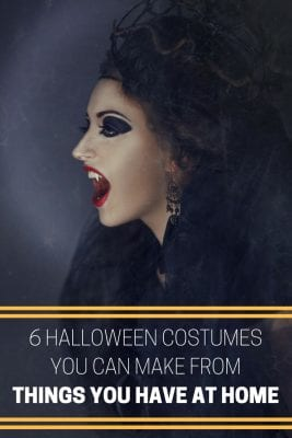6 Halloween Costumes You Can Make from Things You Already Have at Home