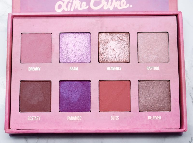 Lime Crime Venus III Palette Review, Swatches, Look
