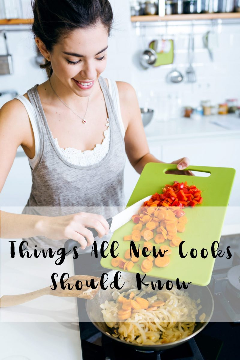 10 Things All New Cooks Should Know