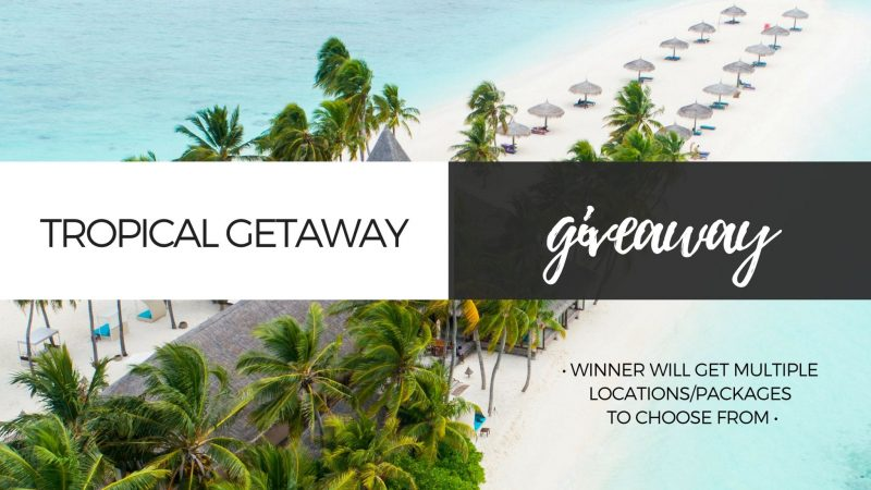 Tropical Getaway Giveaway