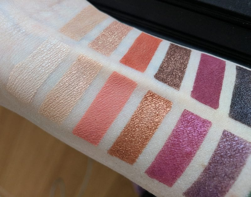 Urban Decay Born to Run Eyeshadow Palette Swatches Review