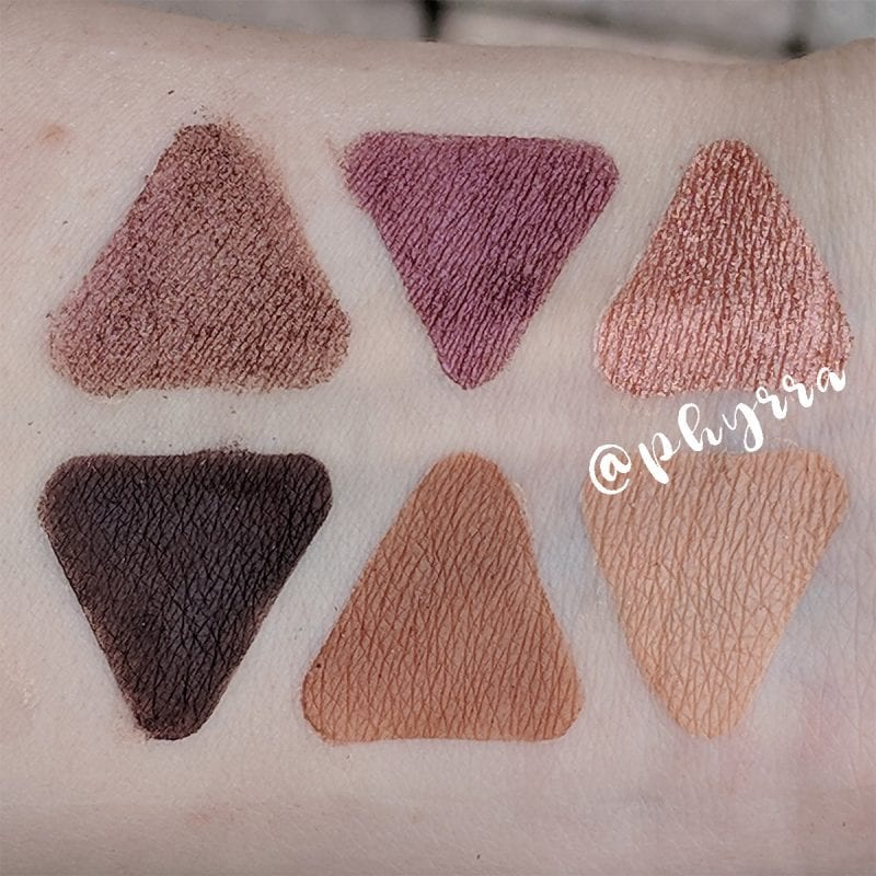 Urban Decay Aphrodisiac Palette Swatches