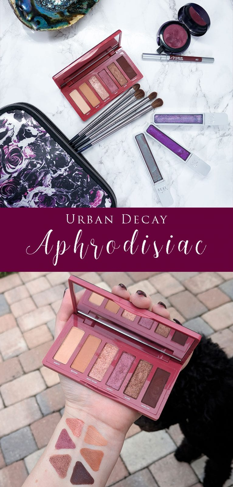 Urban Decay Aphrodisiac Palette Review, Swatches, Demo