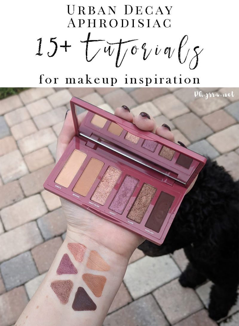 Urban Decay Aphrodisiac Palette Tutorials and Looks for Inspiration
