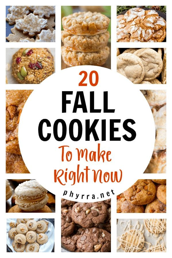 Fall Cookie Recipes - 20 Fall Cookies To Make Right Now